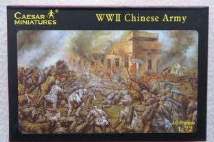 Caesar Miniatures 1/72 CMH036 Chinese Army (WW2)